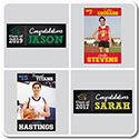 Personalized Photo School Spirit Banners