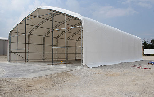 Crestline Truss Arch Fabric Shelter Tent Gallery & Crestline Truss Arch Fabric Shelter Photo Gallery