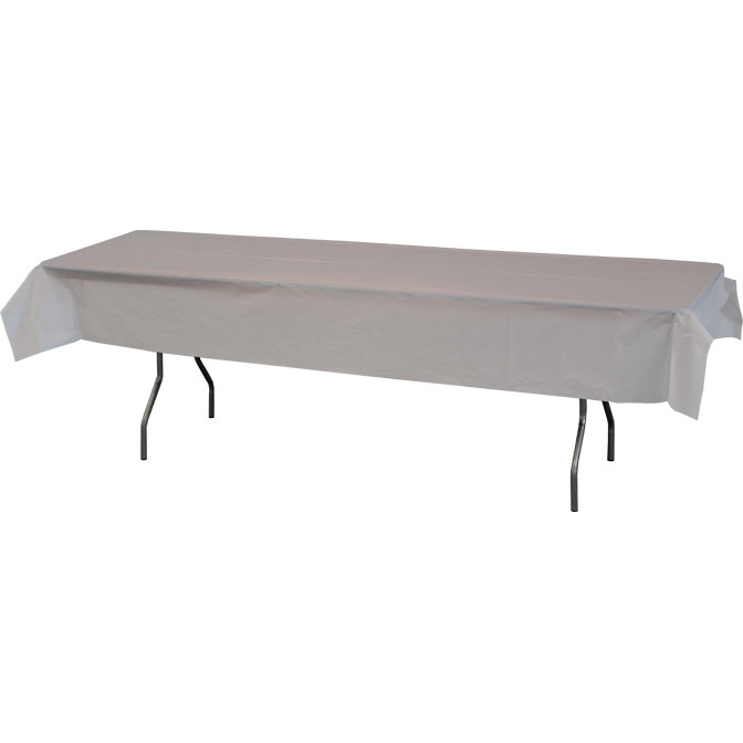 54 X 108 Heavy Duty Plastic Table Covers