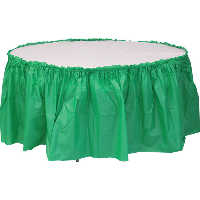 72u0027u0027 Round Heavy Duty Plastic Table Covers