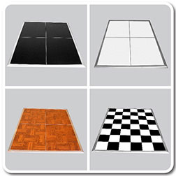 Portable Temporary Dance Flooring For Events - Snap lock dance floor for sale