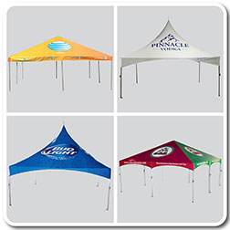 Printed Vinyl Tent Packages  sc 1 st  Celina Tent & Customized Outdoor Printed Vinyl Tents