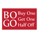 BOGO Rectangle Flags