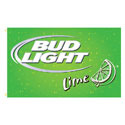 Bud Light Lime Rectangle Flags