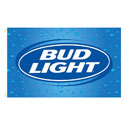 Bud Light Rectangle Flags