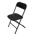 Bellbrook Black Poly Chair