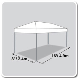 8u0027 x 16u0027 Tent  sc 1 st  Celina Tent & 8u0027 wide x 16u0027 long Tents Canopies u0026 Marquees by Celina Tent