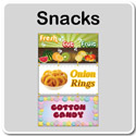 Snacks - Concession Banners
