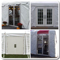 Tent Doors & Doors for All Styles of Frame and Pole Tents