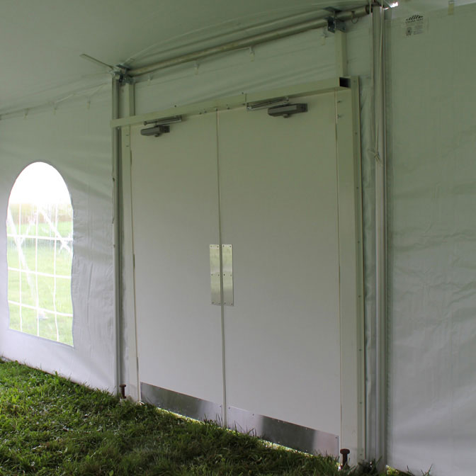 Tent Doors- Door Piece & Tent Doors for Frame Tents Pole Tents and Structures