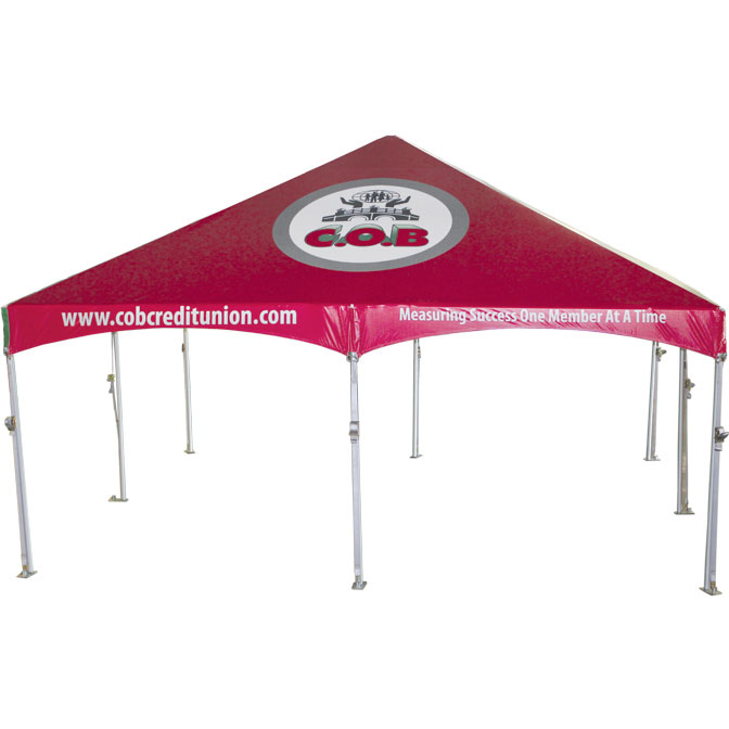 Custom Graphic Marketing Tents Package 3 A